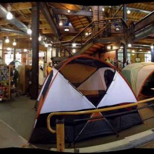 REI flagship in Seattle for gear.