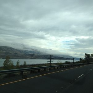 After the first night in Portland, OR, we finally feel like we've hit the open road.