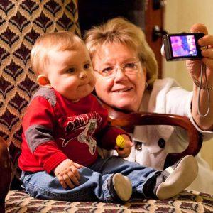 Selfie with Grammie