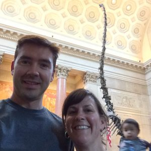 Selfie with a Barosaurus