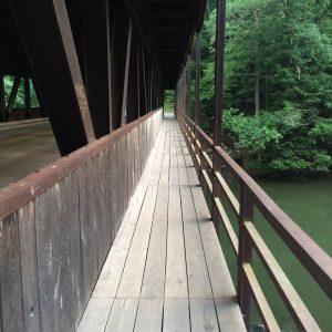 One of Ohio's 120+ covered bridges