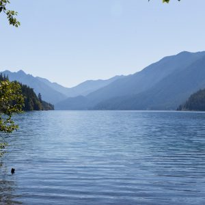 Lake Crescent - we must come back and camp here.  (We have.)