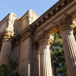 Palace of Fine Arts, site of the 1915 Panama-Pacific Exposition.