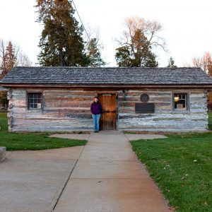 The first Pony Express station. Gothenburg, NE